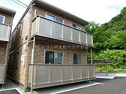 岡山県倉敷市児島塩生の賃貸アパートの外観