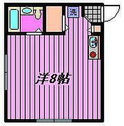 コンフォートマンション北戸田[531号室]の間取り