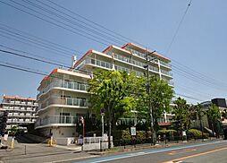 豊中緑ヶ丘サンハイツA棟[4階]の外観