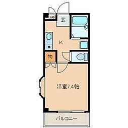 K・Sマンション[3階]の間取り