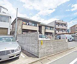 京都府京都市左京区山端橋ノ本町の賃貸アパートの外観