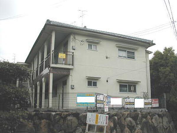 サンハイム桂山[2階]の外観