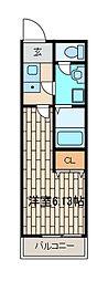 メーヴェ町田[3階]の間取り