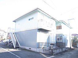 埼玉県日高市高萩東1丁目の賃貸アパートの外観