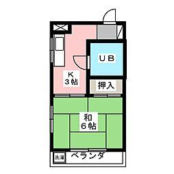 東昭ビル[2階]の間取り