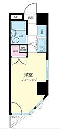 東京都文京区向丘2丁目の賃貸マンションの間取り