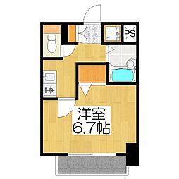プレサンス京都東山CityLife[303号室]の間取り