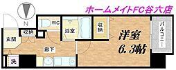 ランドマークシティ大阪城南[7階]の間取り