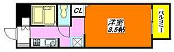 サンビレッジ・デグチII B棟 102号室[1階]の間取り