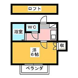 藤枝レジデンス[1階]の間取り