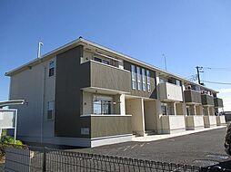埼玉県鴻巣市小松2の賃貸アパートの外観