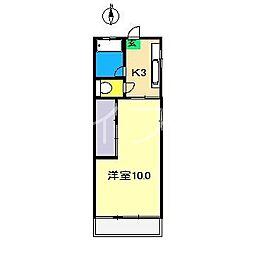 フローラルハウス[3階]の間取り