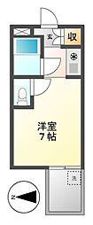ドール栄五丁目[3階]の間取り