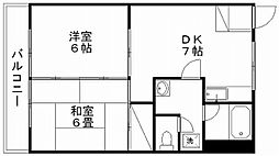 東幸ビル[4階]の間取り