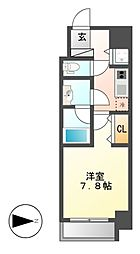 Confort新栄[7階]の間取り