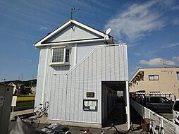 兵庫県姫路市白浜町の賃貸アパートの外観