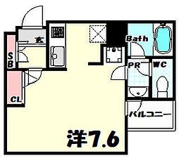 北野Crest[2階]の間取り
