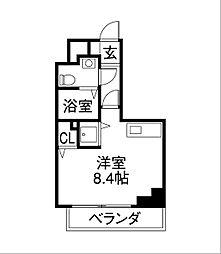 リベール名駅南[9階]の間取り