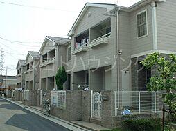 大阪府八尾市刑部4丁目の賃貸アパートの外観