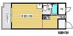 コーポ松谷[1階]の間取り
