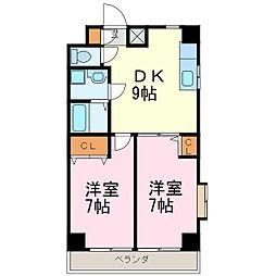 アセーラ新栄[6階]の間取り