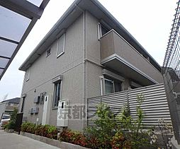 大阪府枚方市楠葉朝日の賃貸アパートの外観