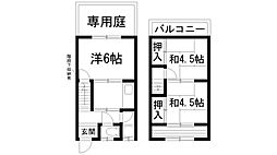 [一戸建] 兵庫県川西市下加茂1丁目 の賃貸【/】の間取り