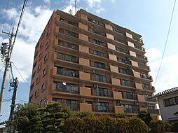 愛知県岡崎市美合町字生田の賃貸マンションの外観