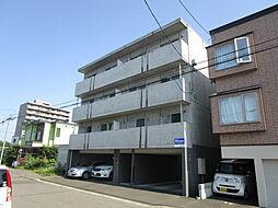 北海道札幌市東区北三十九条東19丁目の賃貸マンションの外観