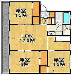 PRISM Eniwa 001[4階]の間取り