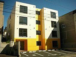 北海道札幌市白石区栄通13の賃貸マンションの外観