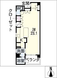 SK'BUILDING−3[3階]の間取り