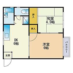 朝倉街道駅 3.7万円