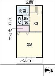 エクセル[1階]の間取り