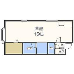 サンピアN15[2階]の間取り