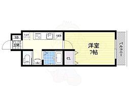 名古屋市営桜通線 瑞穂区役所駅 徒歩18分の賃貸マンション 3階1Kの間取り