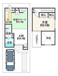 墨染駅 2,680万円