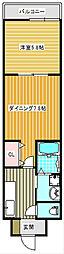 エスタリオコート[3階]の間取り