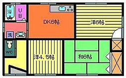 [一戸建] 宮崎県北諸県郡三股町大字蓼池 の賃貸【/】の間取り