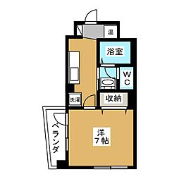 下鴨葵館[1階]の間取り
