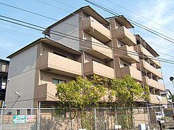 京都府宇治市菟道田中の賃貸マンションの外観