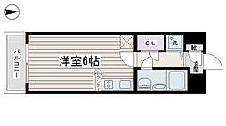 ワコーレ染井[203号室]の間取り