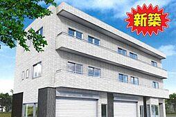 東京都調布市布田6丁目の賃貸マンションの外観