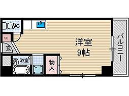 西川ビル[2階]の間取り
