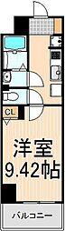 EXCEL KEIWA[403号室]の間取り