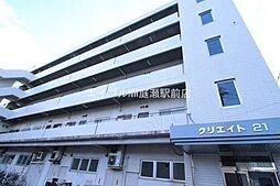 岡山県岡山市北区白石西新町の賃貸マンションの外観