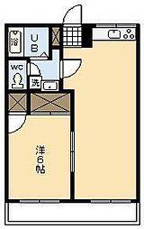 キャロルハウス[207号室]の間取り