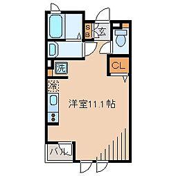 鴈荘[2階]の間取り