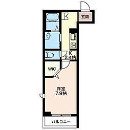 仮)松波シャーメゾン[2階]の間取り