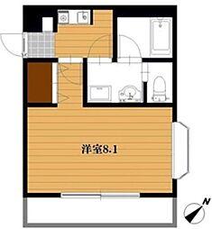 フローリアT2[4階]の間取り